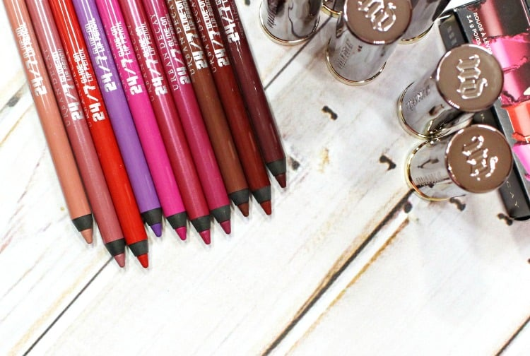 Urban Decay 247 Glide-On Lip Pencil review photos swatches