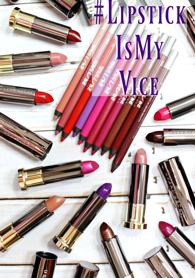 Urban Decay Vice Lipstick swatches review Ruby Rose pics Pinterest #LipstickIsMyVice