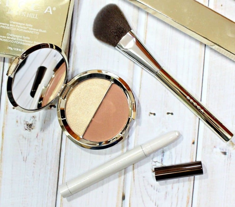 BECCA x Jaclyn Hill Champagne Collection Slimlights, Splits + Brush