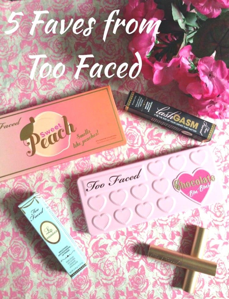 Allison's Fave Five feat. Too Faced