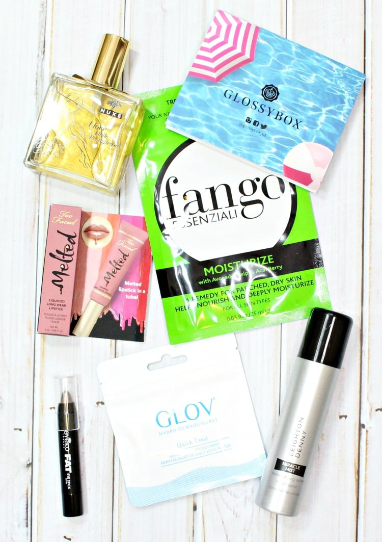 July 2016 Glossybox review