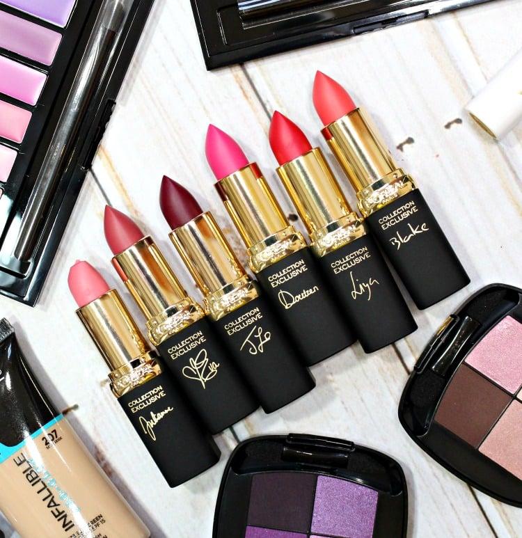 L'Oréal Paris Colour Riche Collection Exclusive La Vie en Rose Lipcolour Swatches + Review