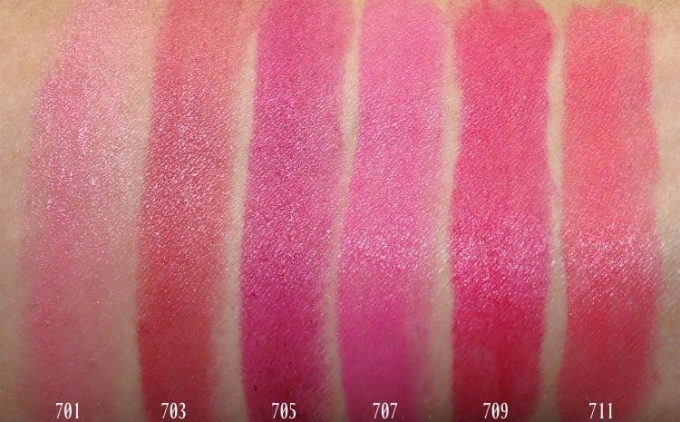 L'Oreal Paris Colour Riche lipstick makeup swatches review photos swatch pics eva JLO Blake