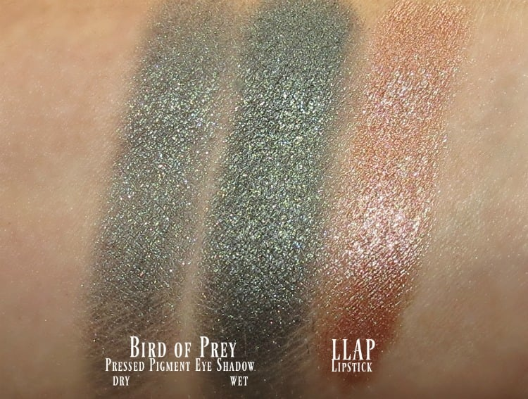 MAC Star Trek Makeup Collection swatches review swatch pics