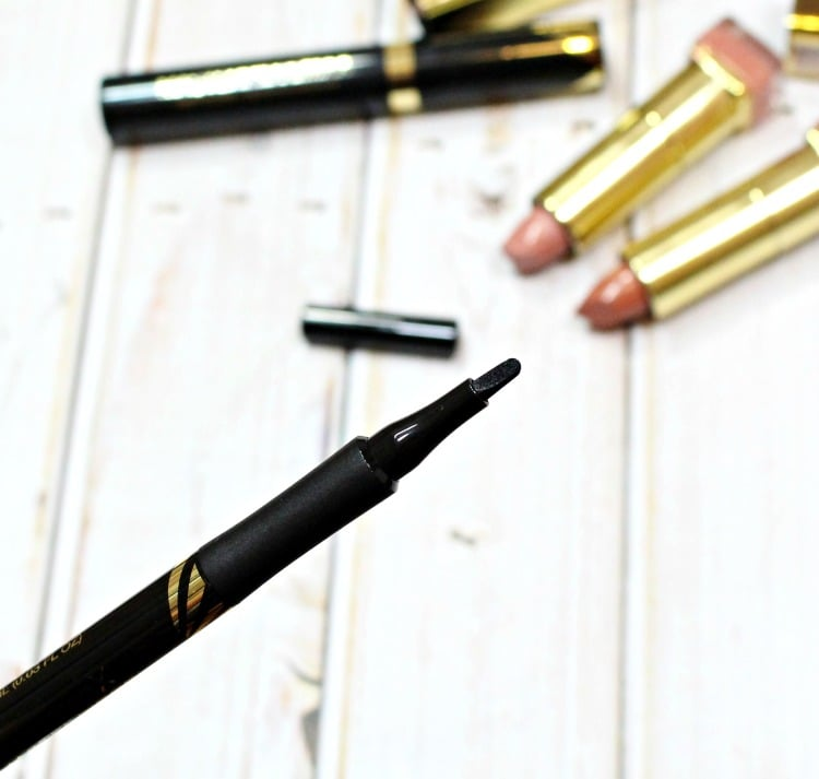 Max Factor Masterpiece High Precision Liquid Eye Liner swatches review swatch pics