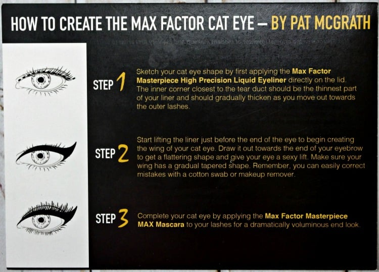Max Factor Pat McGrath Cat Eye