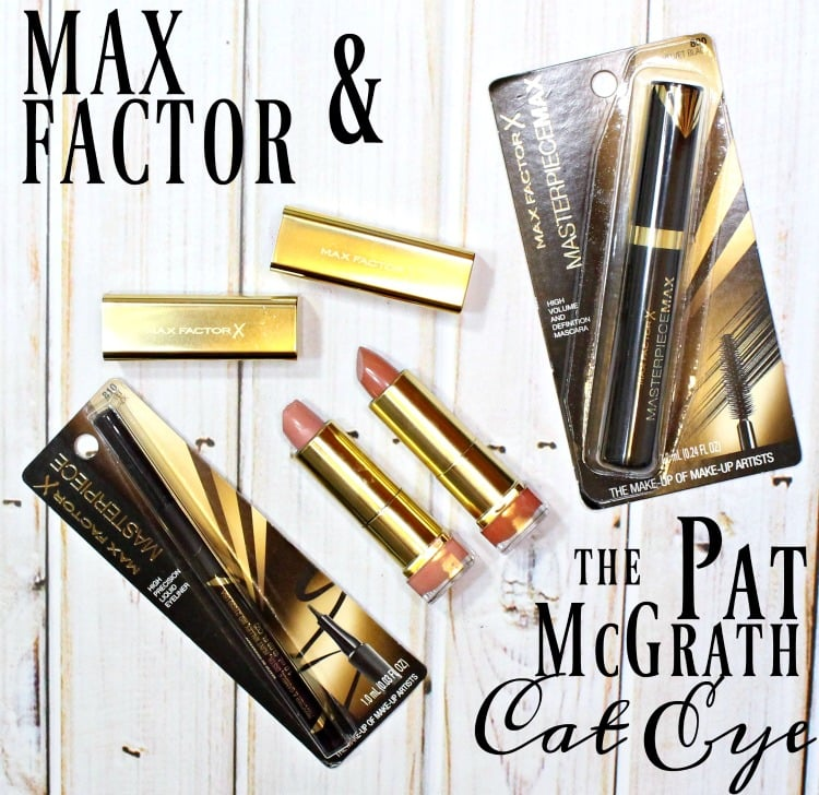 Max Factor & the Pat McGrath Cat Eye how to tutorial