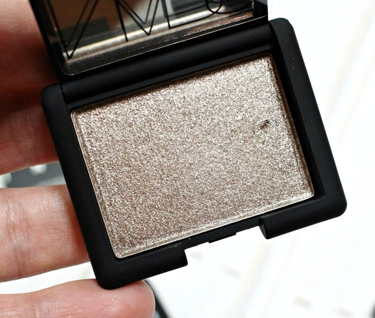 NARS Stud Hardwired Eyeshadow Swatches review swatch pics