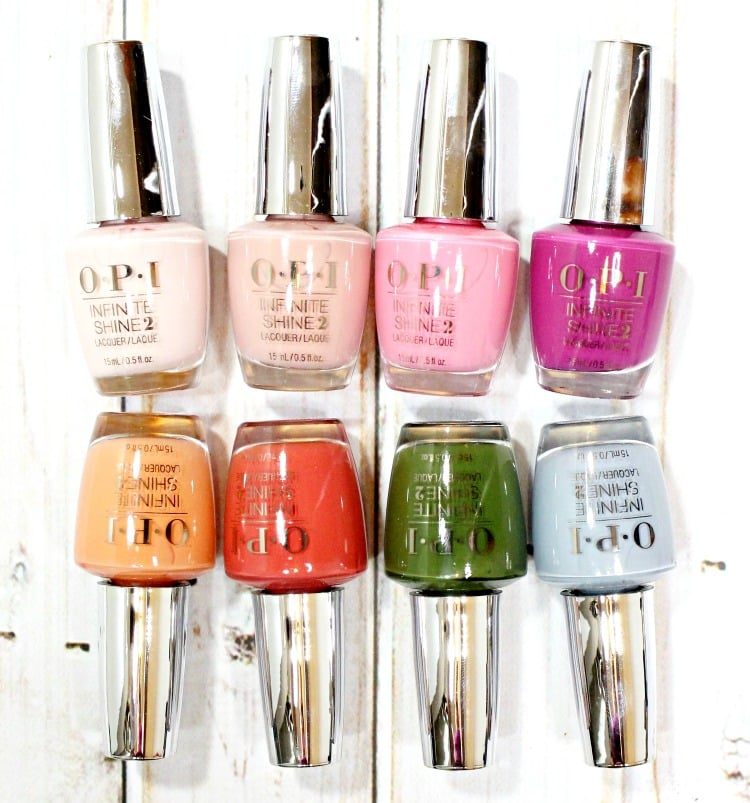 OPI Infinite Shine Spring 2016 Nail Polish swatches review swatch pics photos
