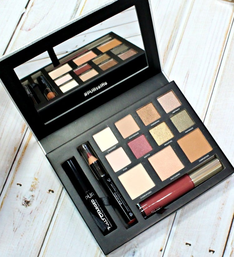 PUR Cosmetics Love Your Selfie 2 Palette swatches review swatch pics photos #PURselfie