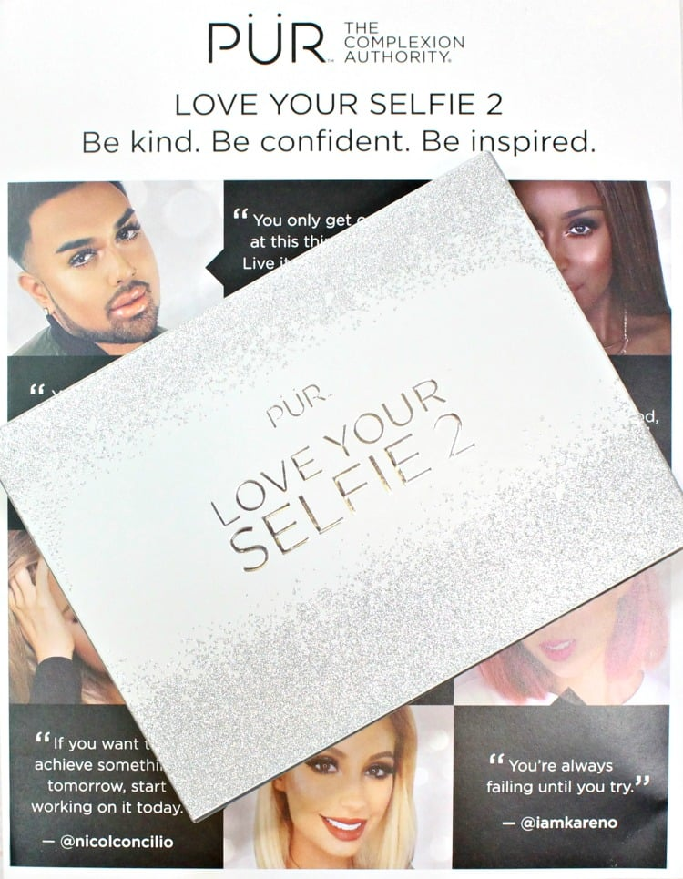 PUR Cosmetics Love Your Selfie 2 eyeshadow face palette