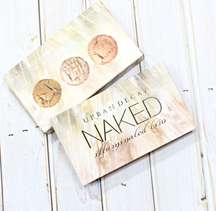 Urban Decay Naked Illuminating Trio packaging holiday 2016