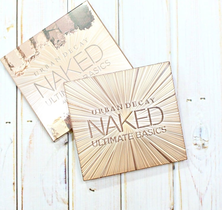 Urban Decay Naked Ultimate Basics palette packaging holiday 2016