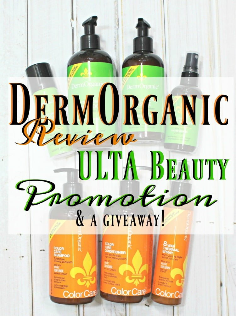 DermOrganic Hair Care Review + ULTA Beauty Promotion & Giveaway!