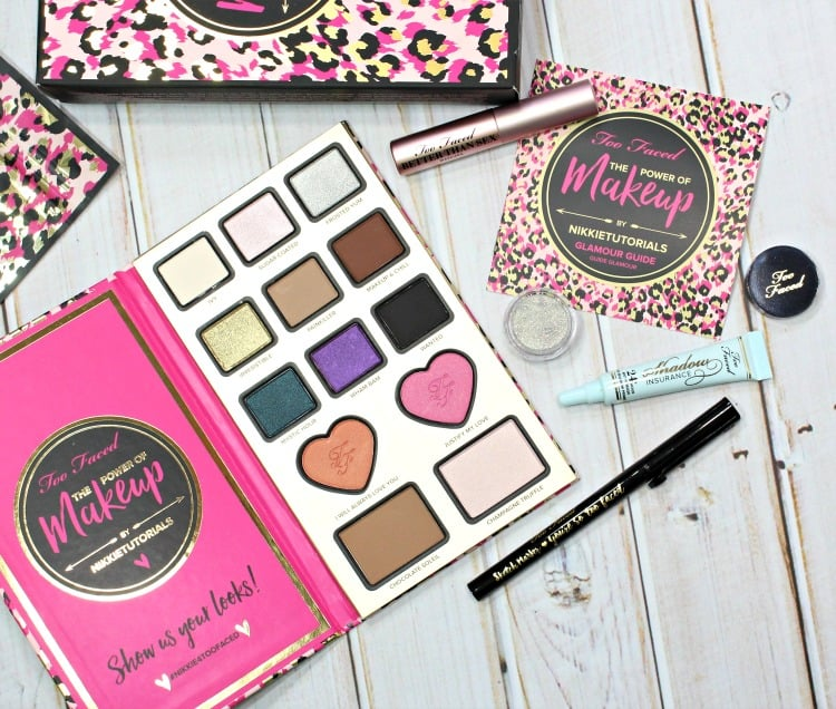 Too Faced The Power of Makeup By NIKKIETUTORIALS Swatches + Review
