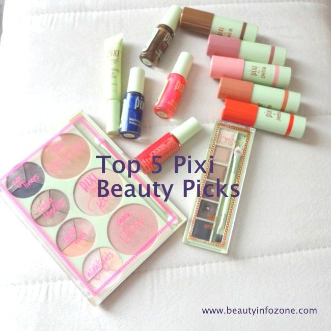 Marcia's Fave Five feat. Pixi Beauty