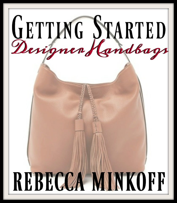 Starting Your Designer Handbag Collection // Rebecca Minkoff at Shopbop