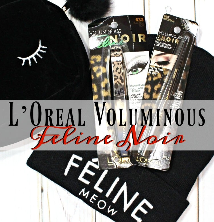L'Oréal Voluminous Feline Noir Mascara & Liner Review + Photos