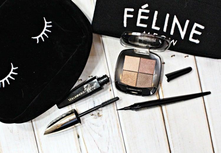 loreal-voluminous-feline-noir-liner-mascara-eyeshadow-quad-get-the-look