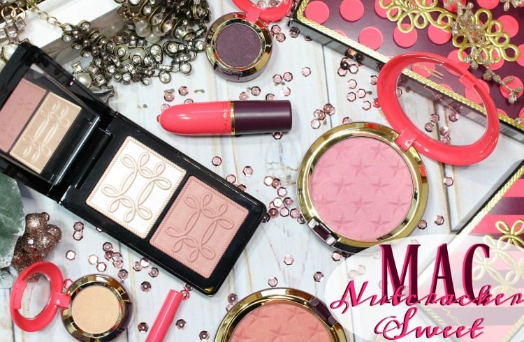 MAC Nutcracker Sweet Collection Swatches + Review // Holiday 2016