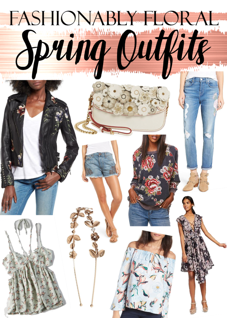 Fashionably Floral Outfit Ideas