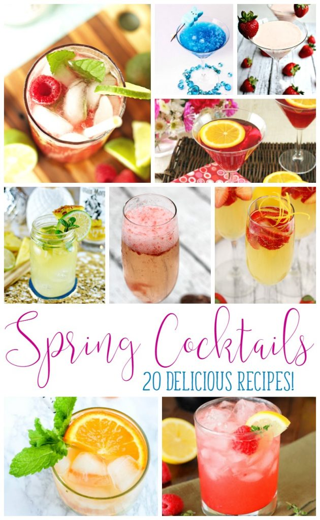20 Delicious Spring Cocktails
