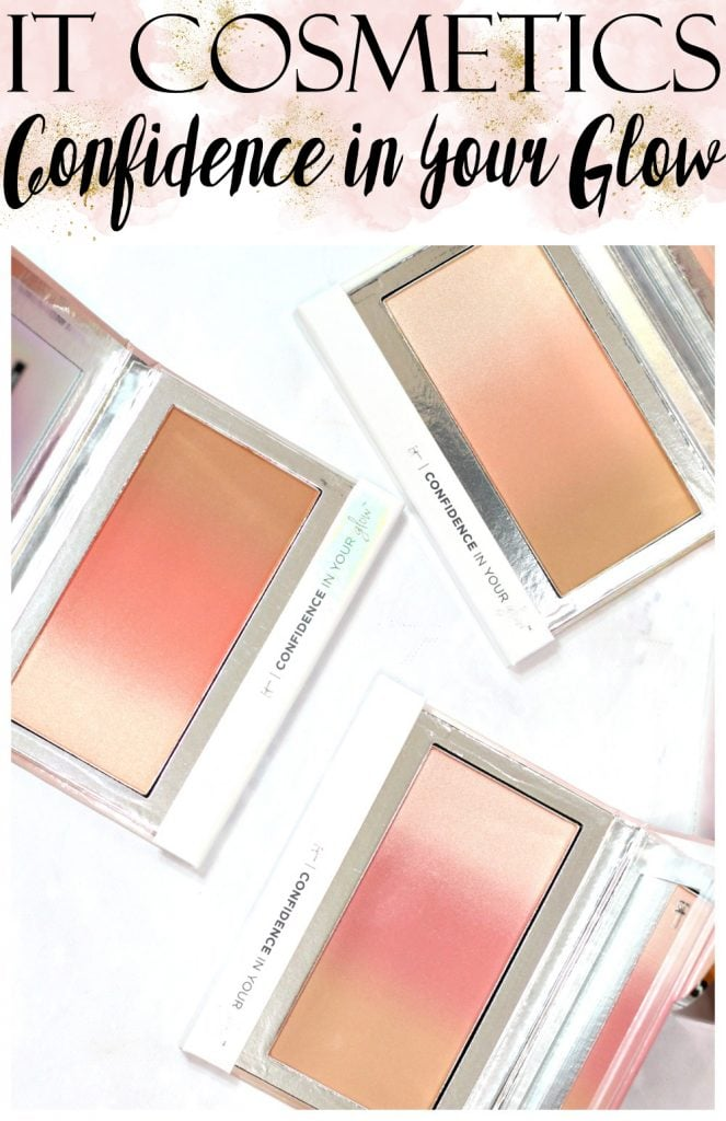 IT Cosmetics Confidence in Your Glow™ Skin-Transforming Healthy Flush Blushing Bronzer Swatches + Review