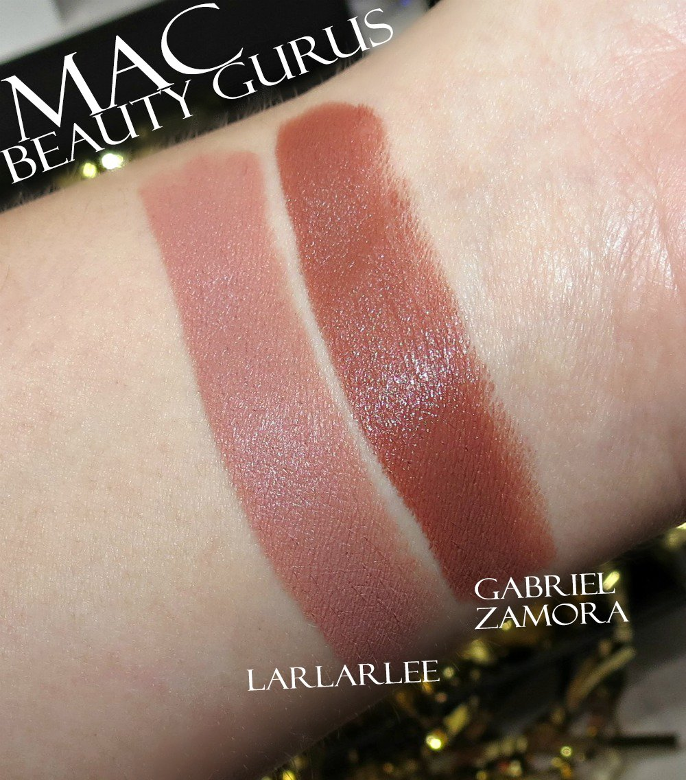 MAC LarLarLee & Gabriel Zamora Lipstick Swatches + Review