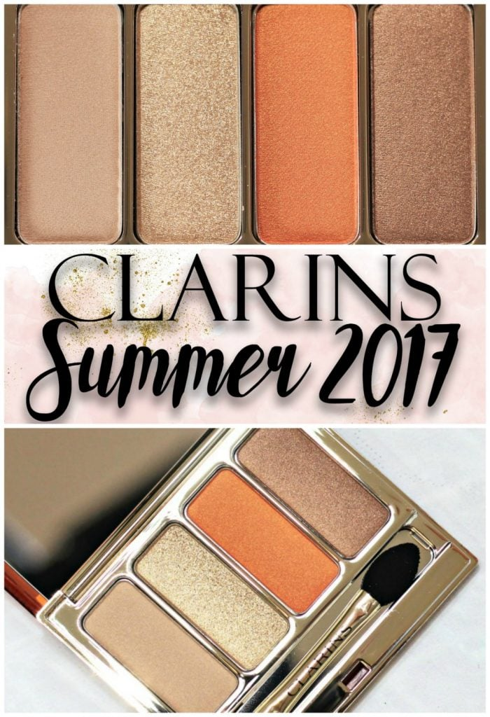 Clarins Sunkissed Hale D'Ete Makeup Collection Summer 2017