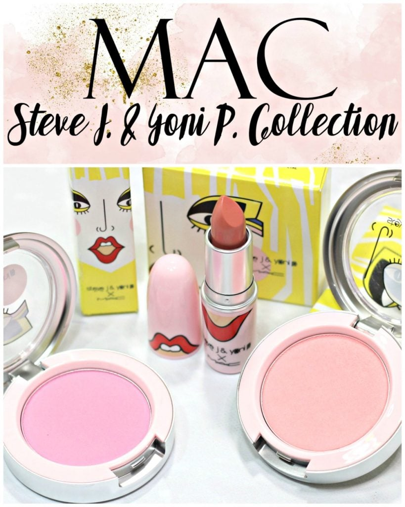 MAC x Steve J. & Yoni P. Collection Swatches + Review