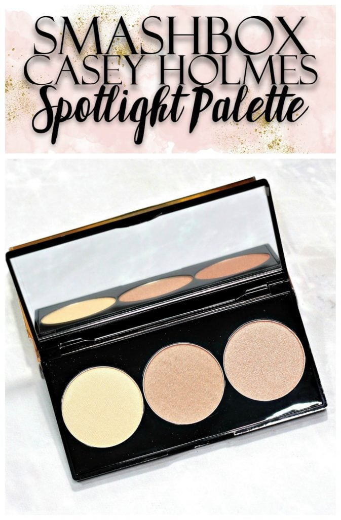 Smashbox Pearl Spotlight Palette Swatches + Review // Casey Holmes