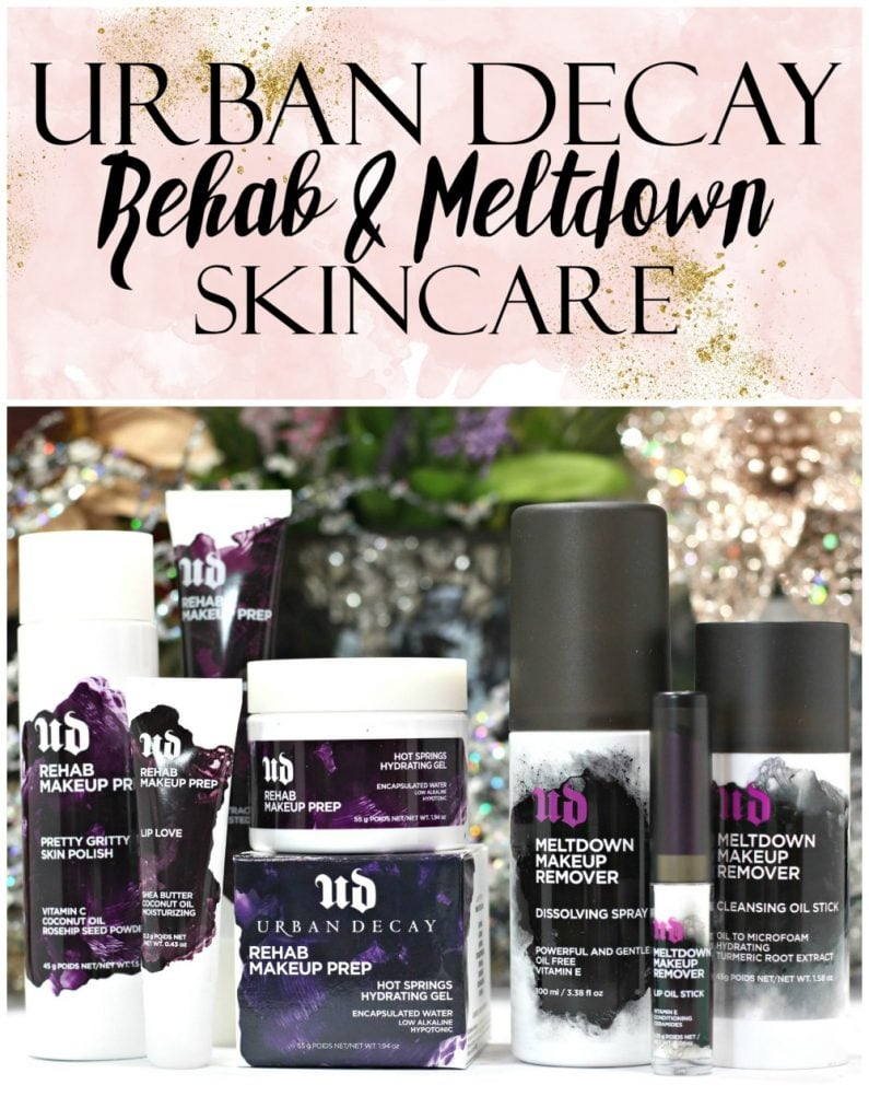 Urban Decay Meltdown Makeup Remover + Rehab Prep Skincare Review