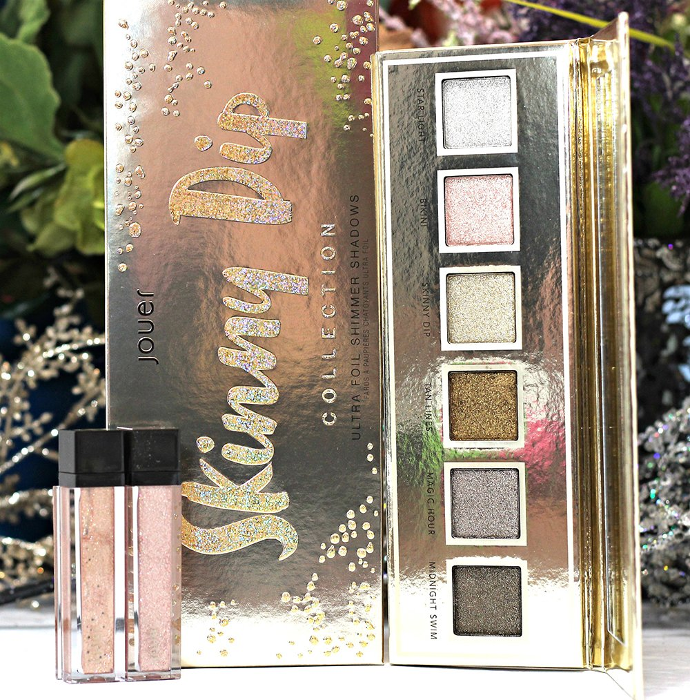 Jouer Skinny Dip Collection Swatches + Review