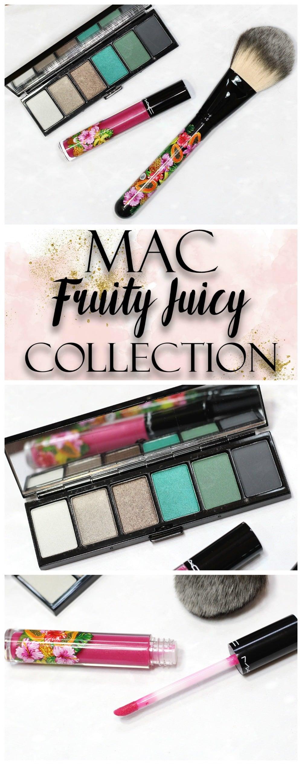 MAC Fruity Juicy Love In The Glades Eyeshadow Palette