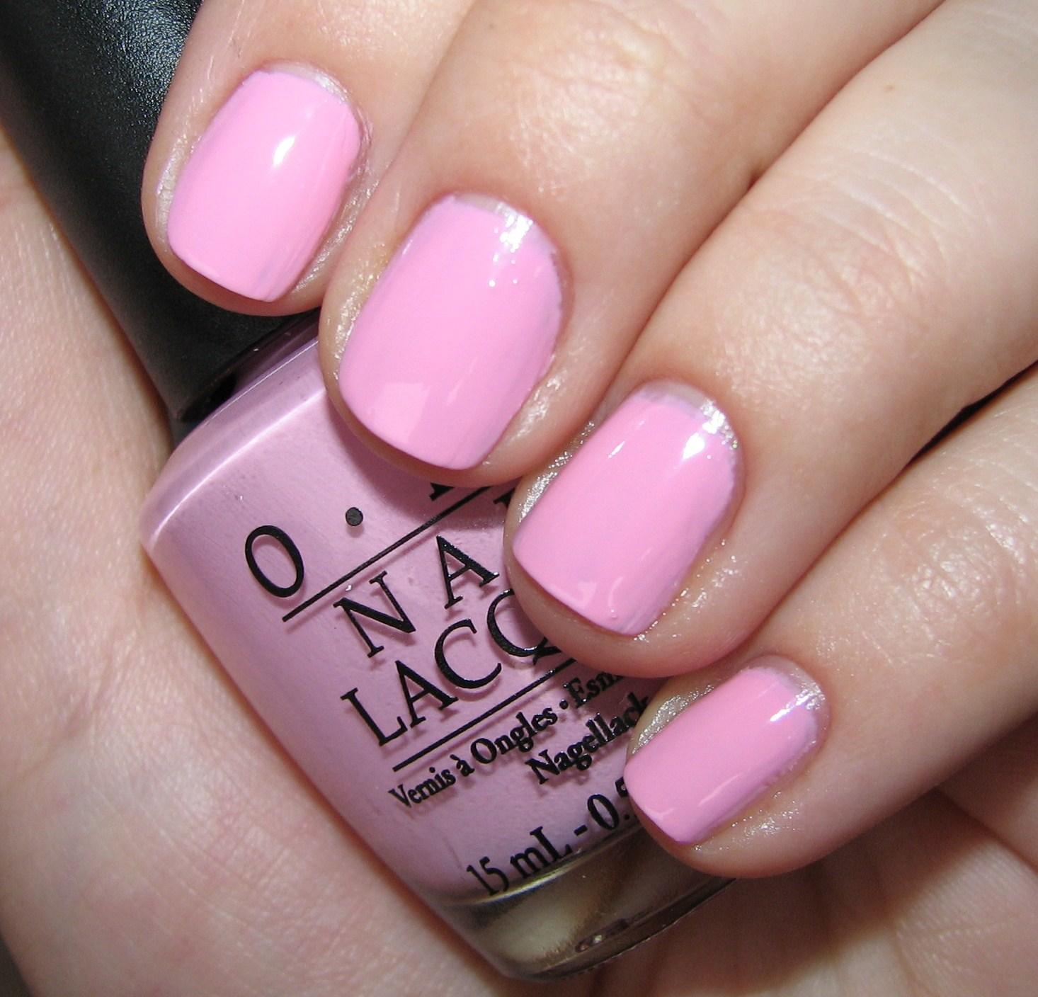 Cotton Candy Nail Polish Opi: OPI Nicki Minaj Collection Nail Polish Swatches And Review