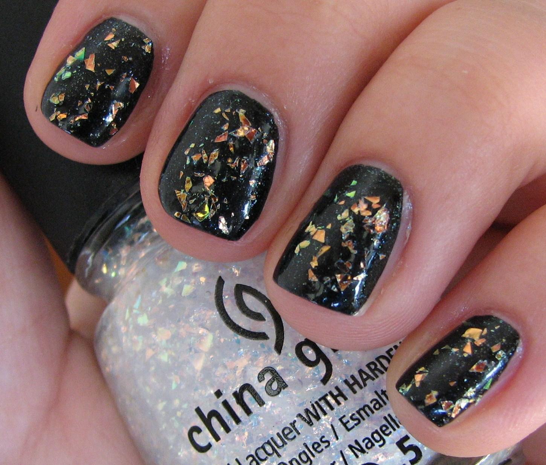 China Glaze SMOKE AND ASHES, LUXE AND LUSH, RIVETING Nail Polish ...