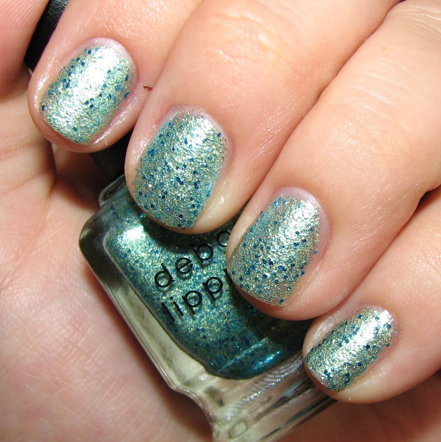Deborah Lippmann MERMAID\'S DREAM Nail Polish Swatches and Review ...