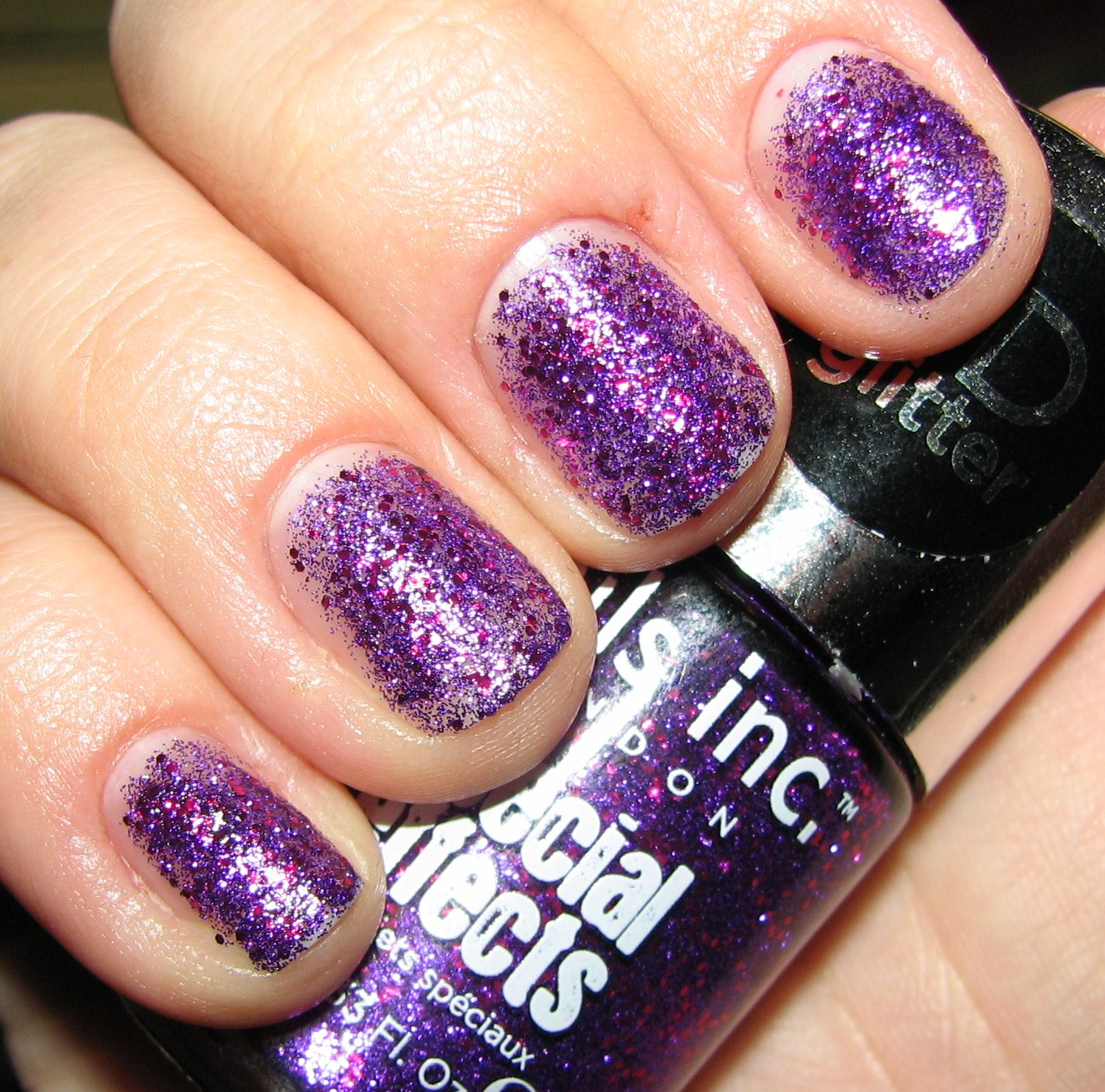 3d Nail Polish: Nails Inc BLOOMSBURY SQUARE Special Effects 3D Glitter
