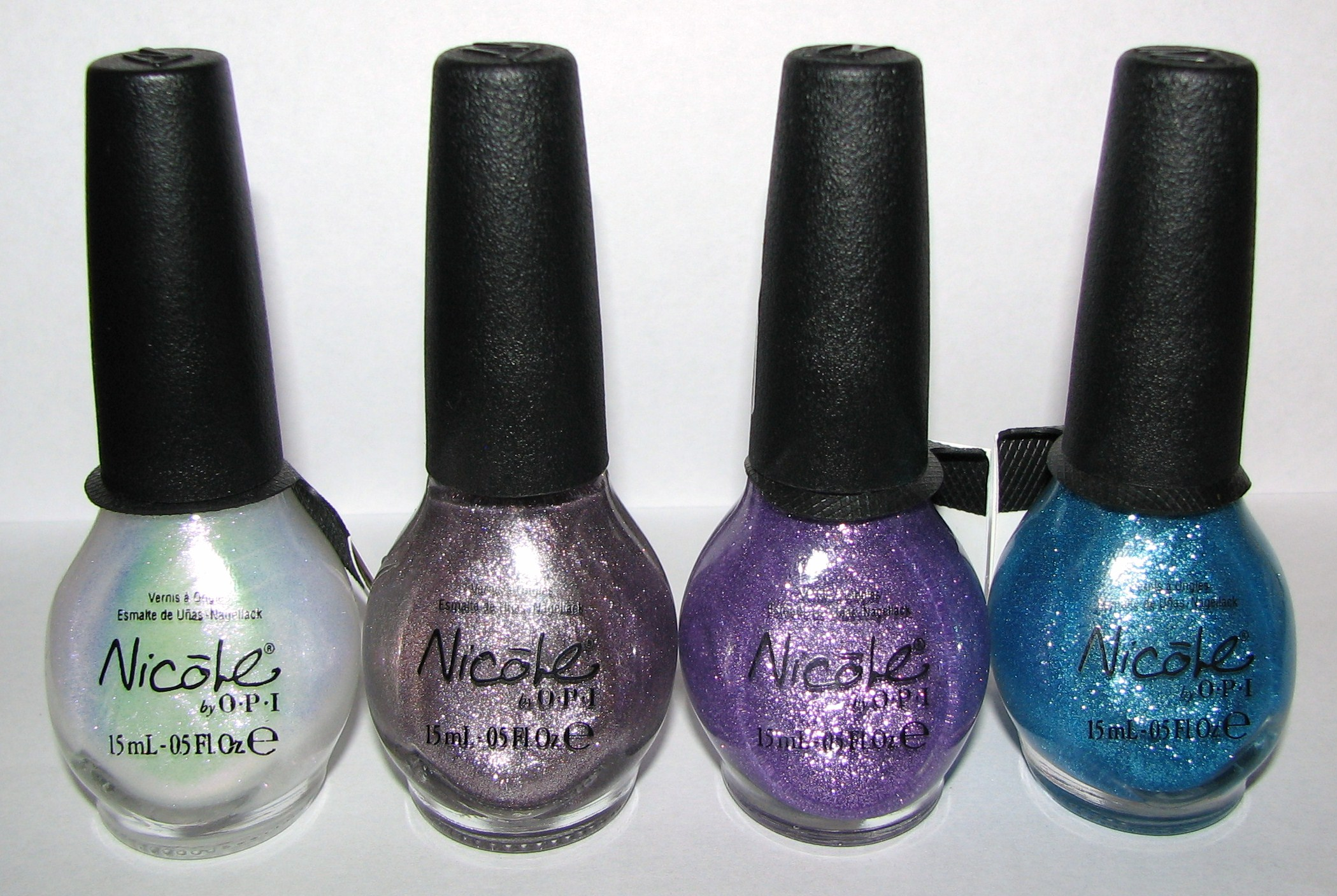 Nicole by OPI Limited Edition TEXTURE COAT Nail Polish Swatches and ...