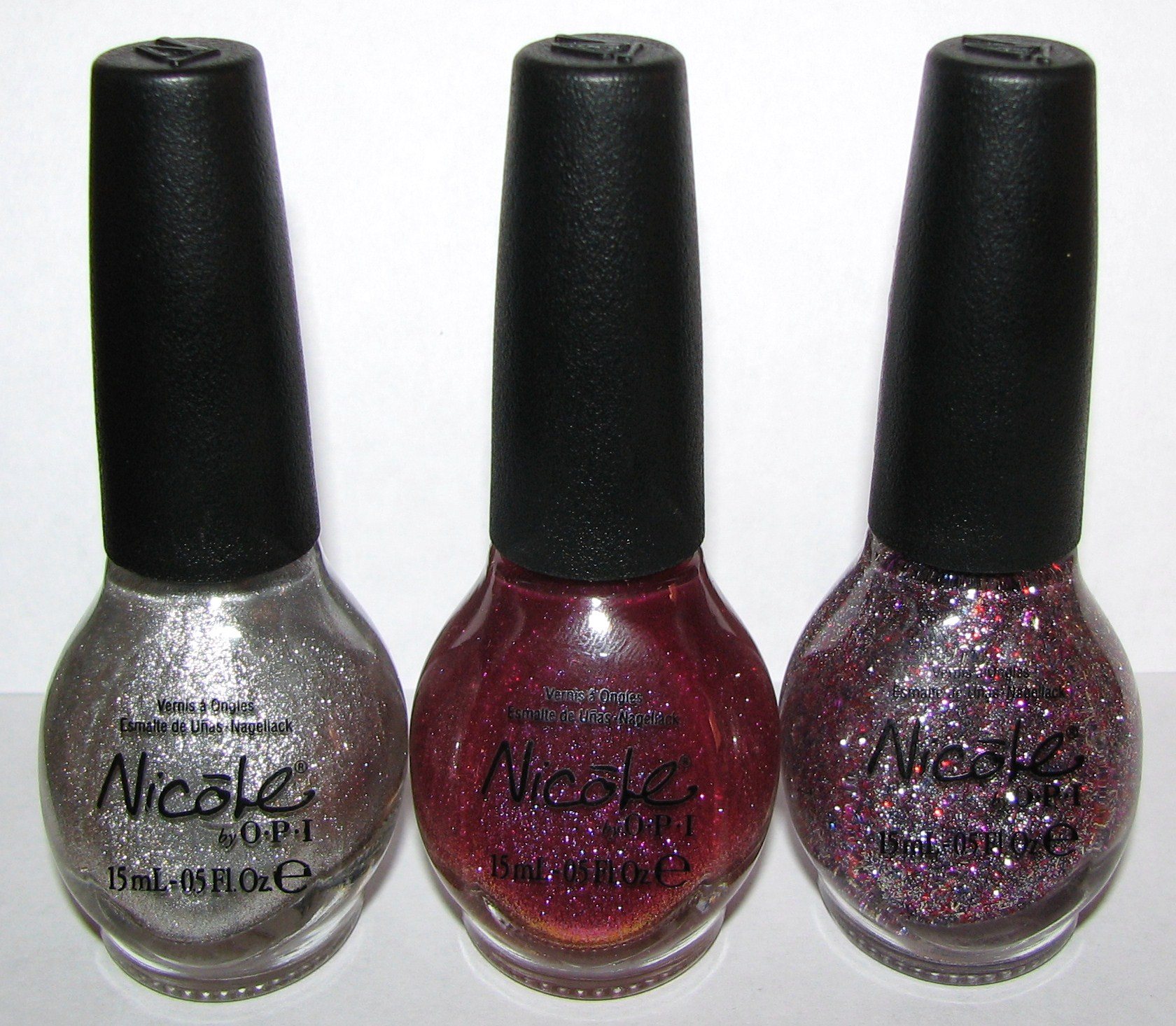 Nicole by OPI Nail Polish Walmart Exclusives for 2012 Swatches and ...