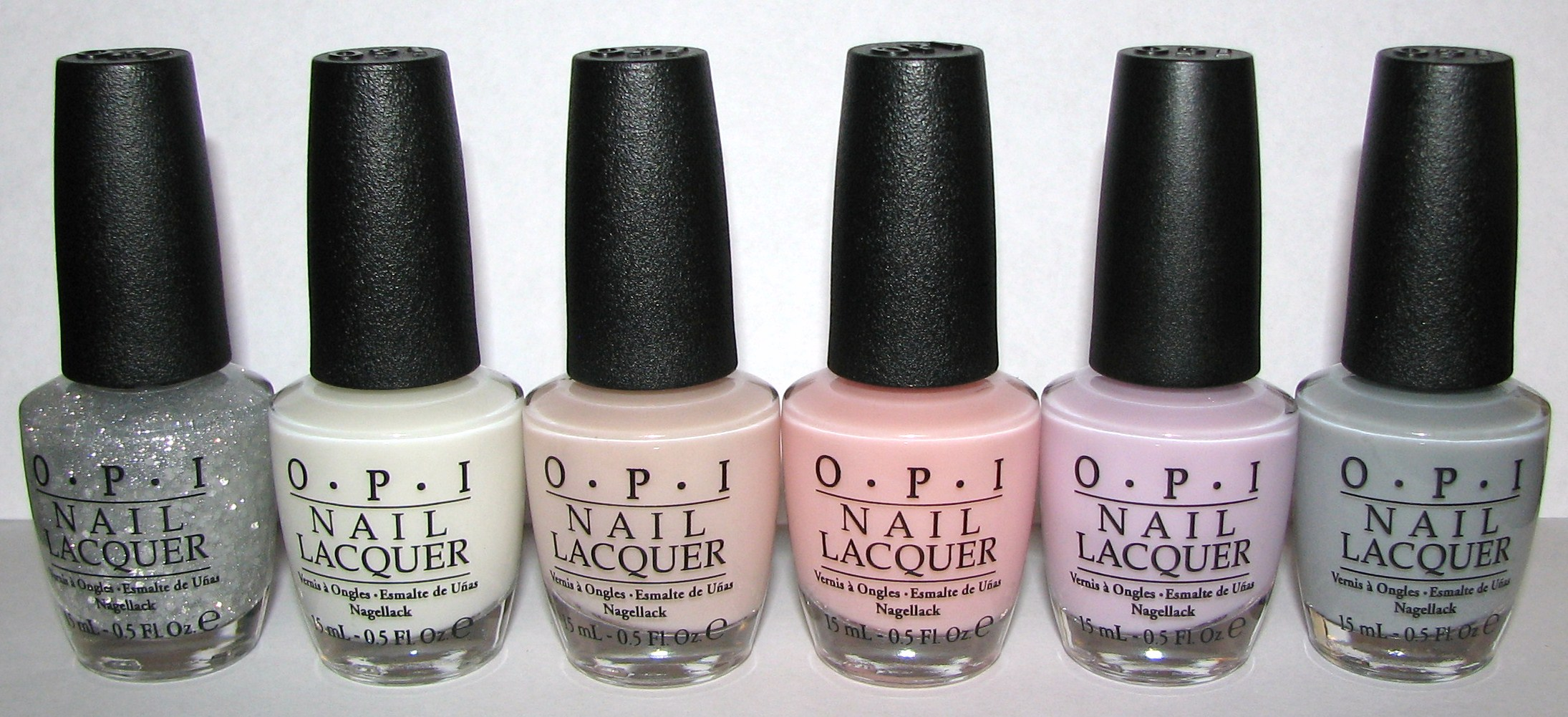 OPI New York City Ballet Nail Polish Collection Swatches and Review ...