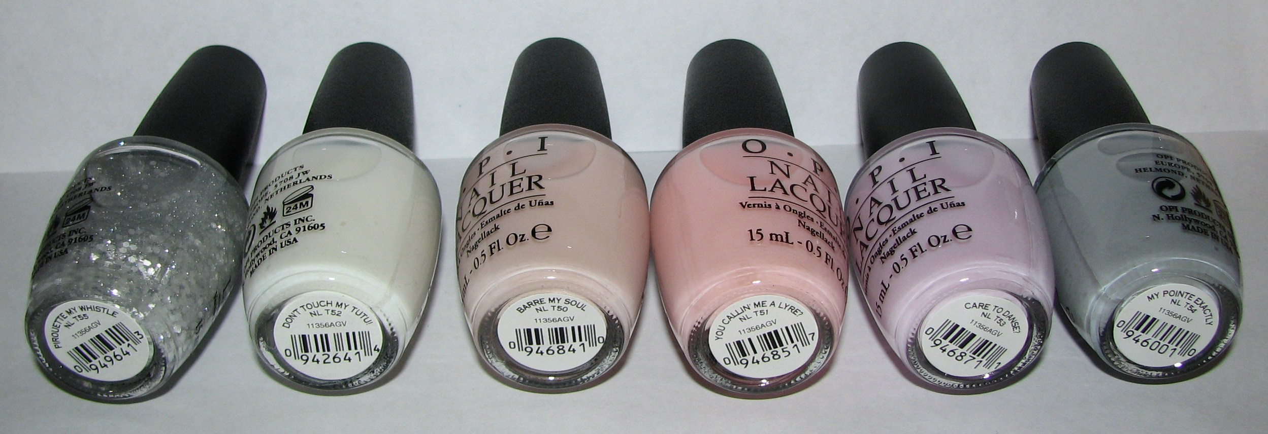 opi new york city ballet nail polish collection swatches and review blushing noir. Black Bedroom Furniture Sets. Home Design Ideas