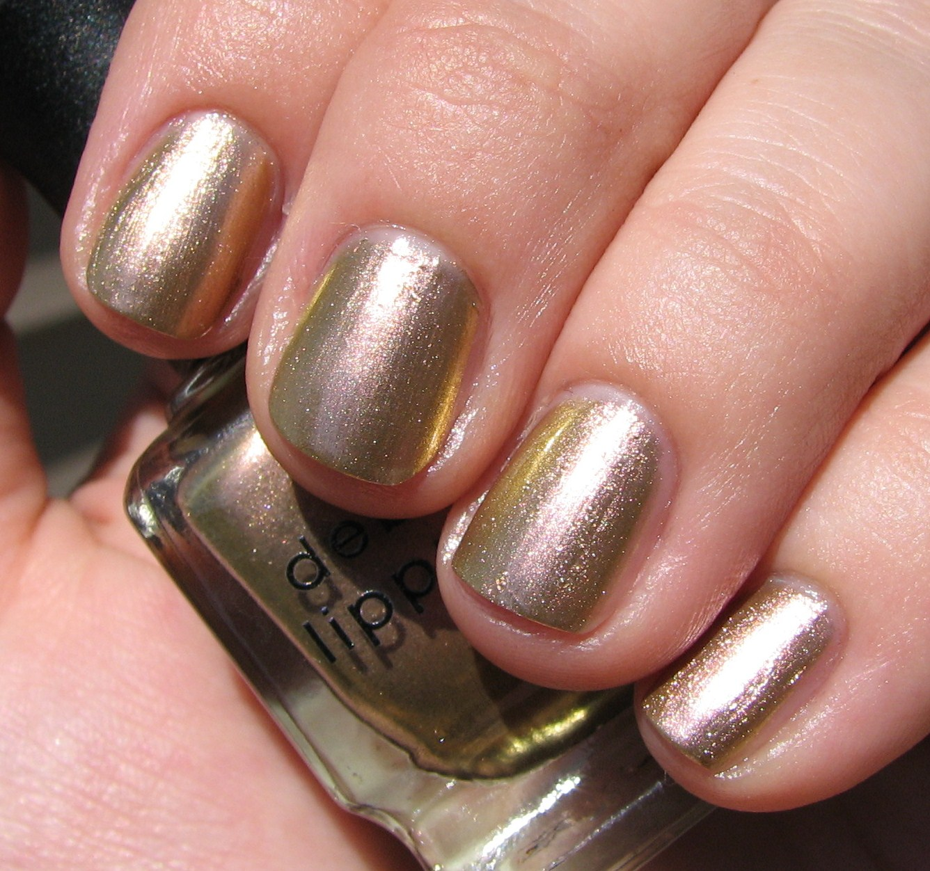 Deborah Lippmann SUGAR DADDY Nail Polish Swatches and Review ...