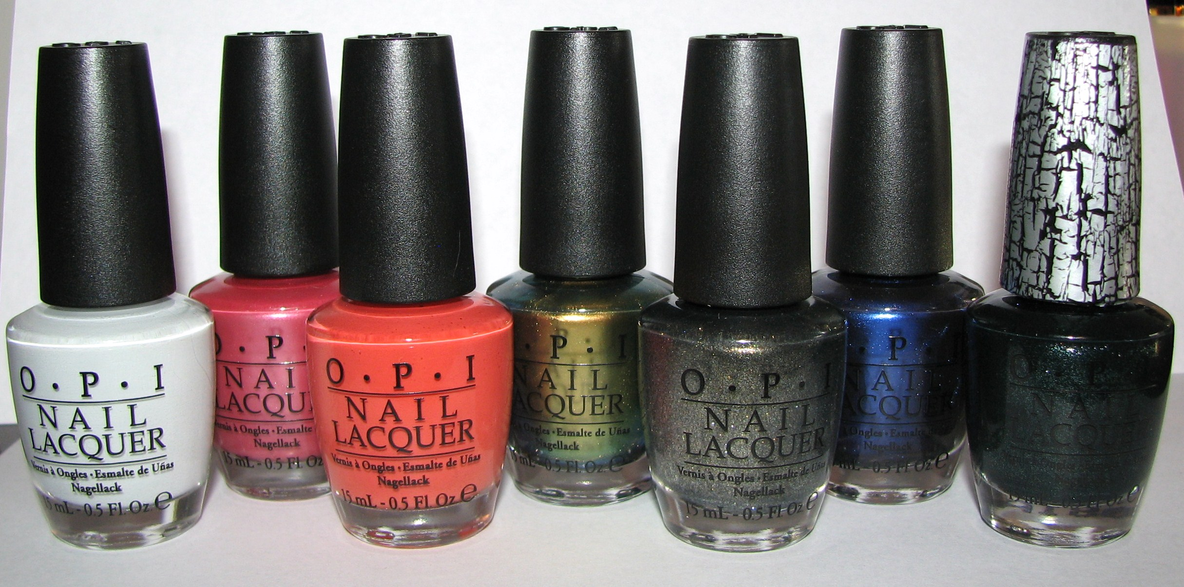 OPI The Amazing Spider-Man Collection Nail Polish Swatches and ...