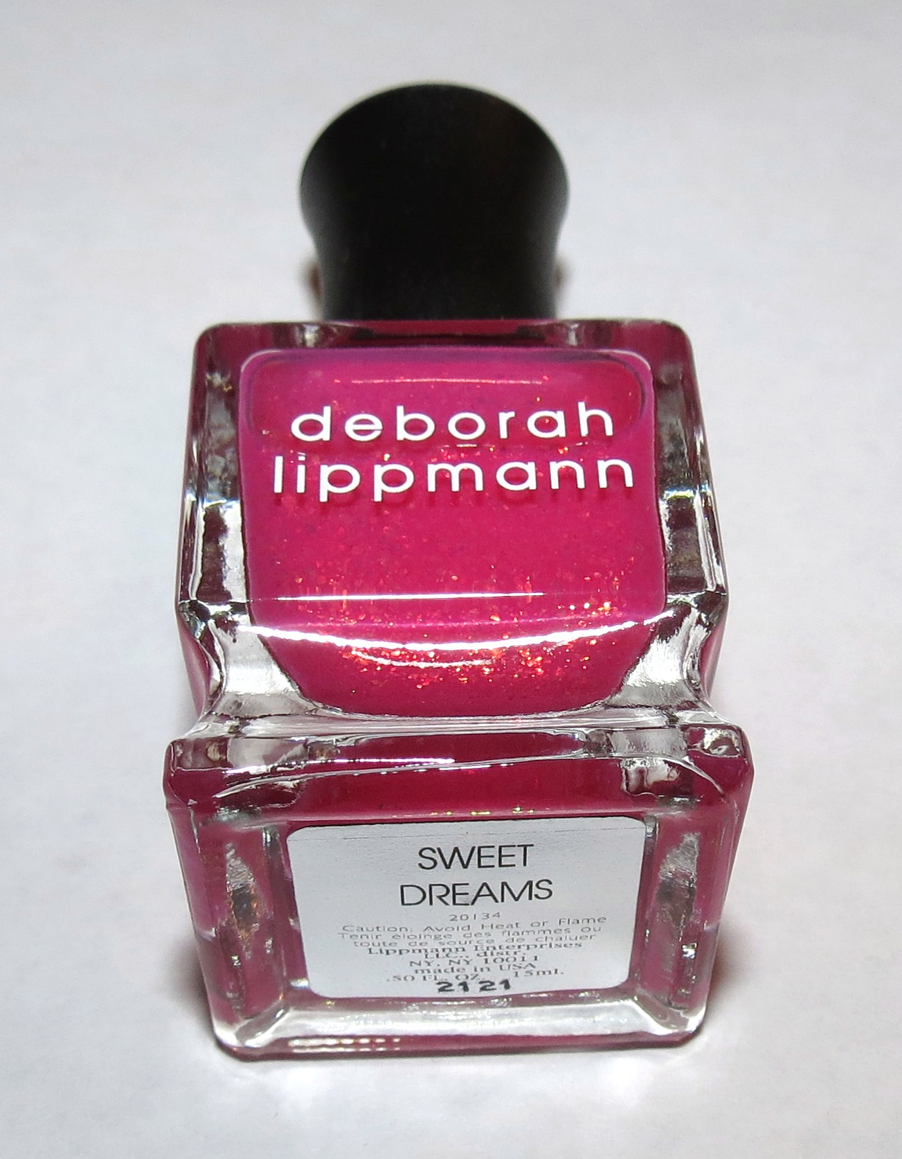 Deborah Lippmann SWEET DREAMS Nail Polish Swatches and Review - 3-D ...