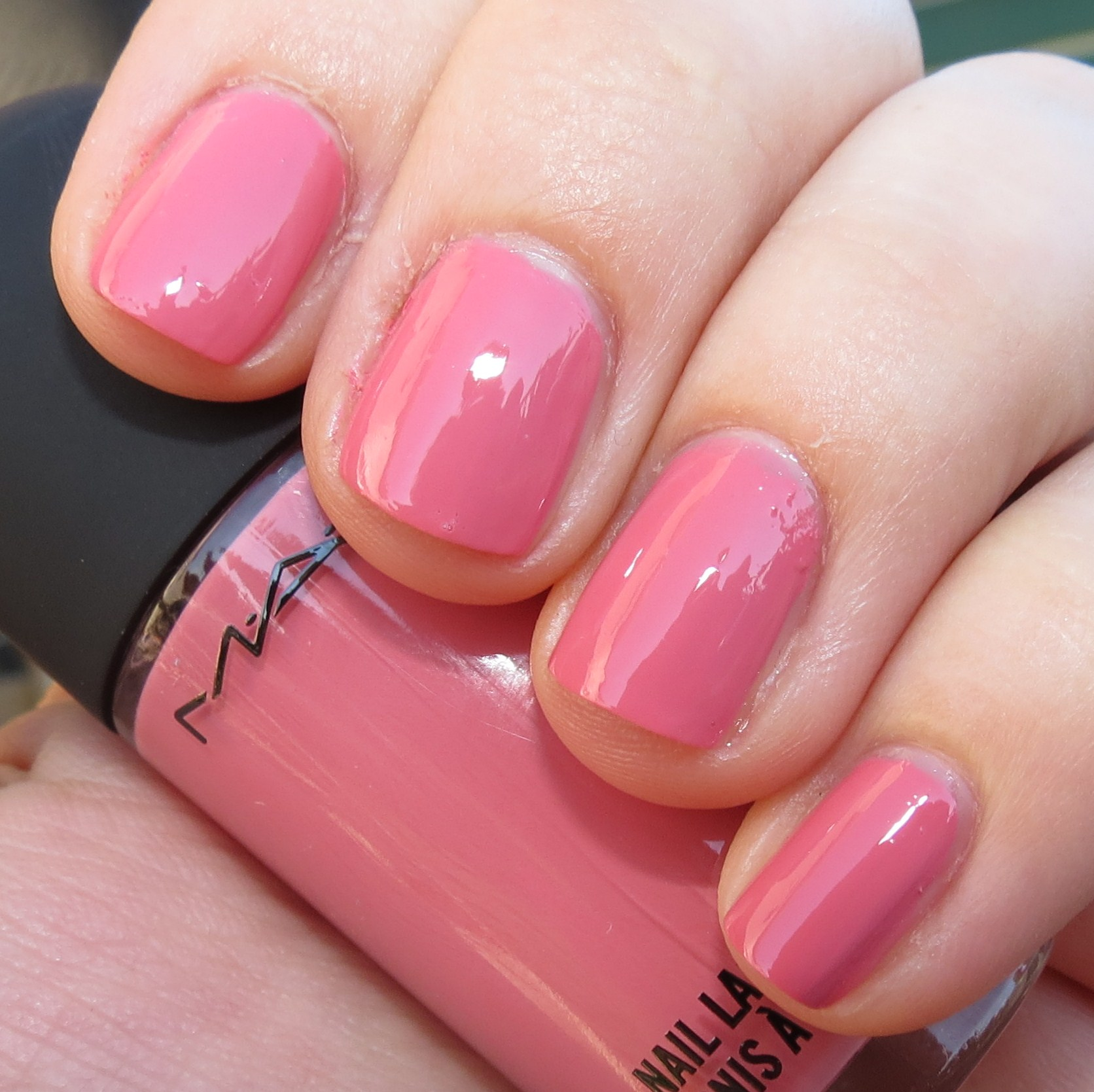 MAC Please Me Nail Polish Swatches and Review – Casual Colour ...