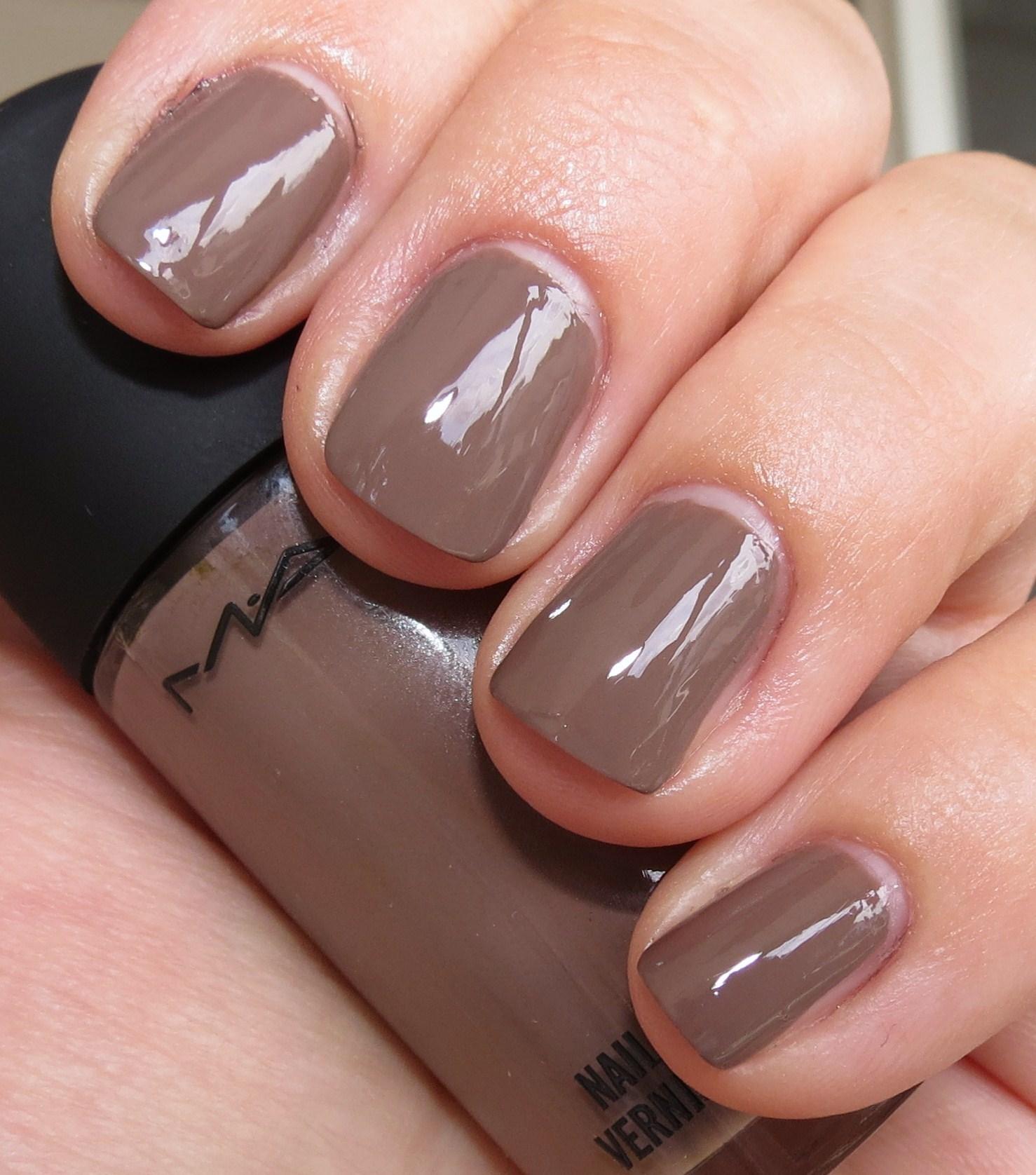 MAC Coffee Break Nail Polish Swatches & Review - MAC Nail Lacquers ...