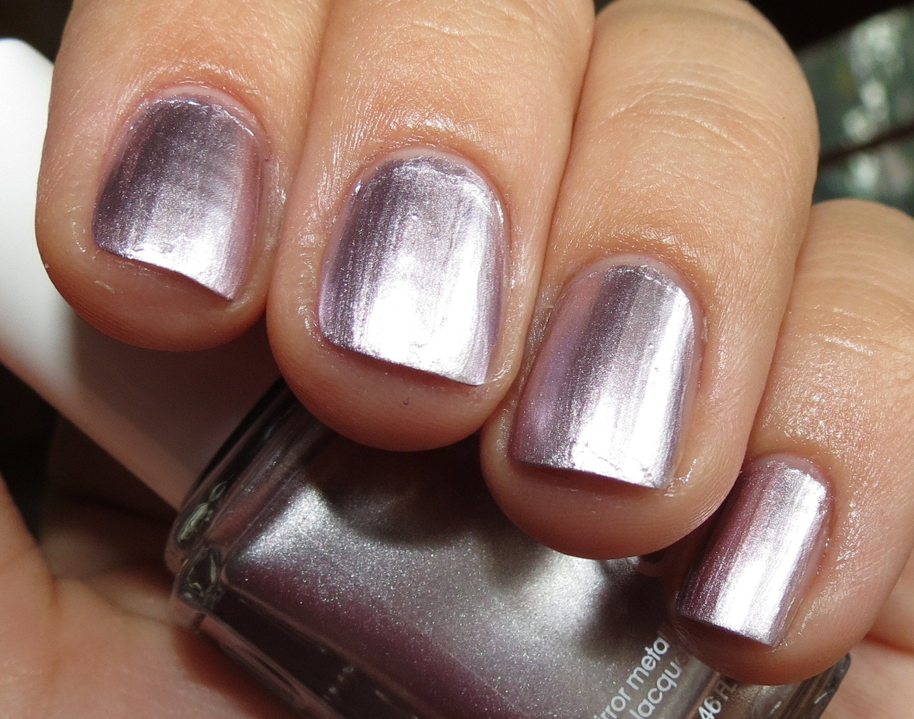Essie NOTHING ELSE METALS Nail Polish Swatches & Review - Mirror ...