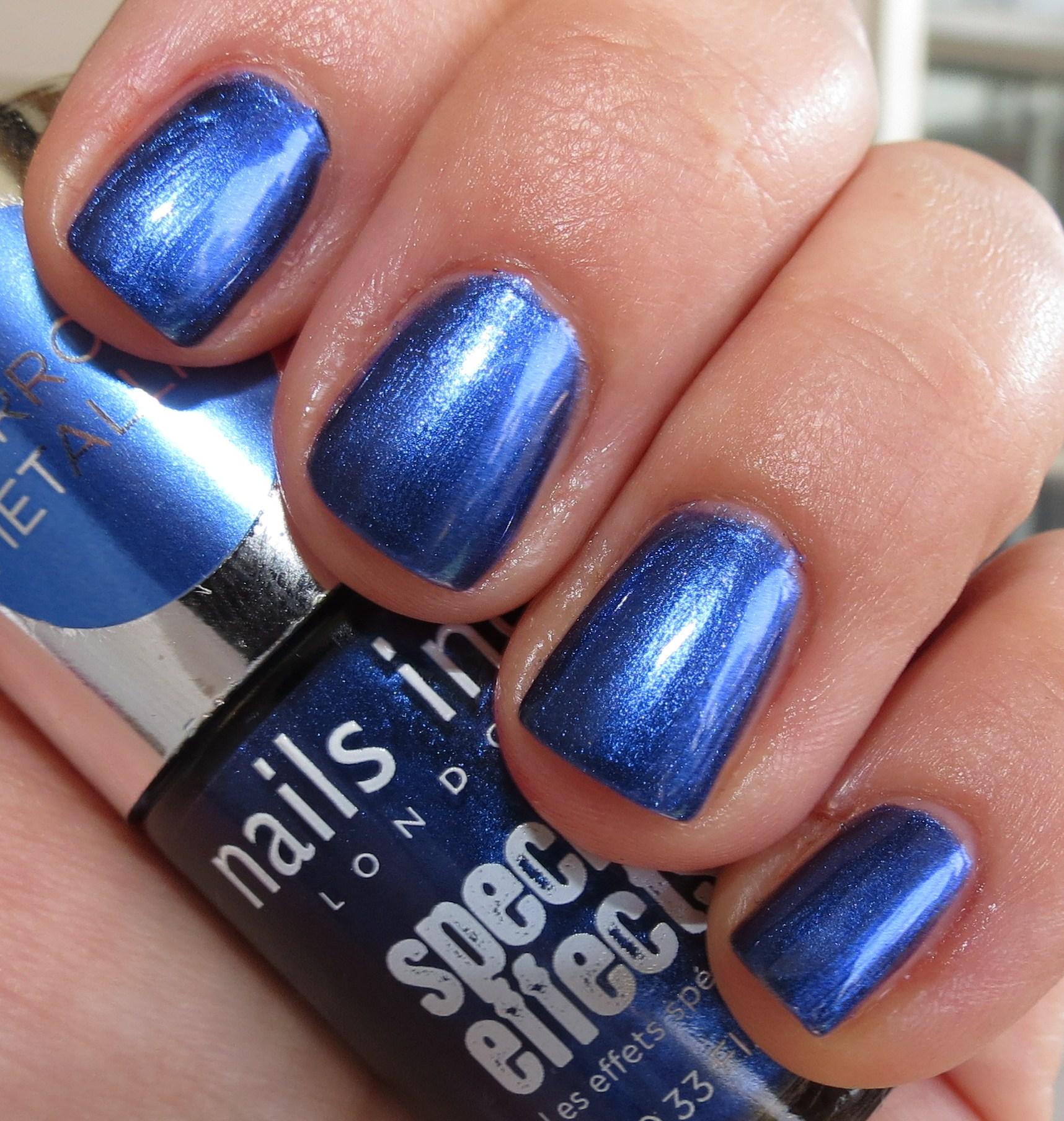Nails Inc. PRIMROSE PARK Special Effects Mirror Metallic Nail Polish ...