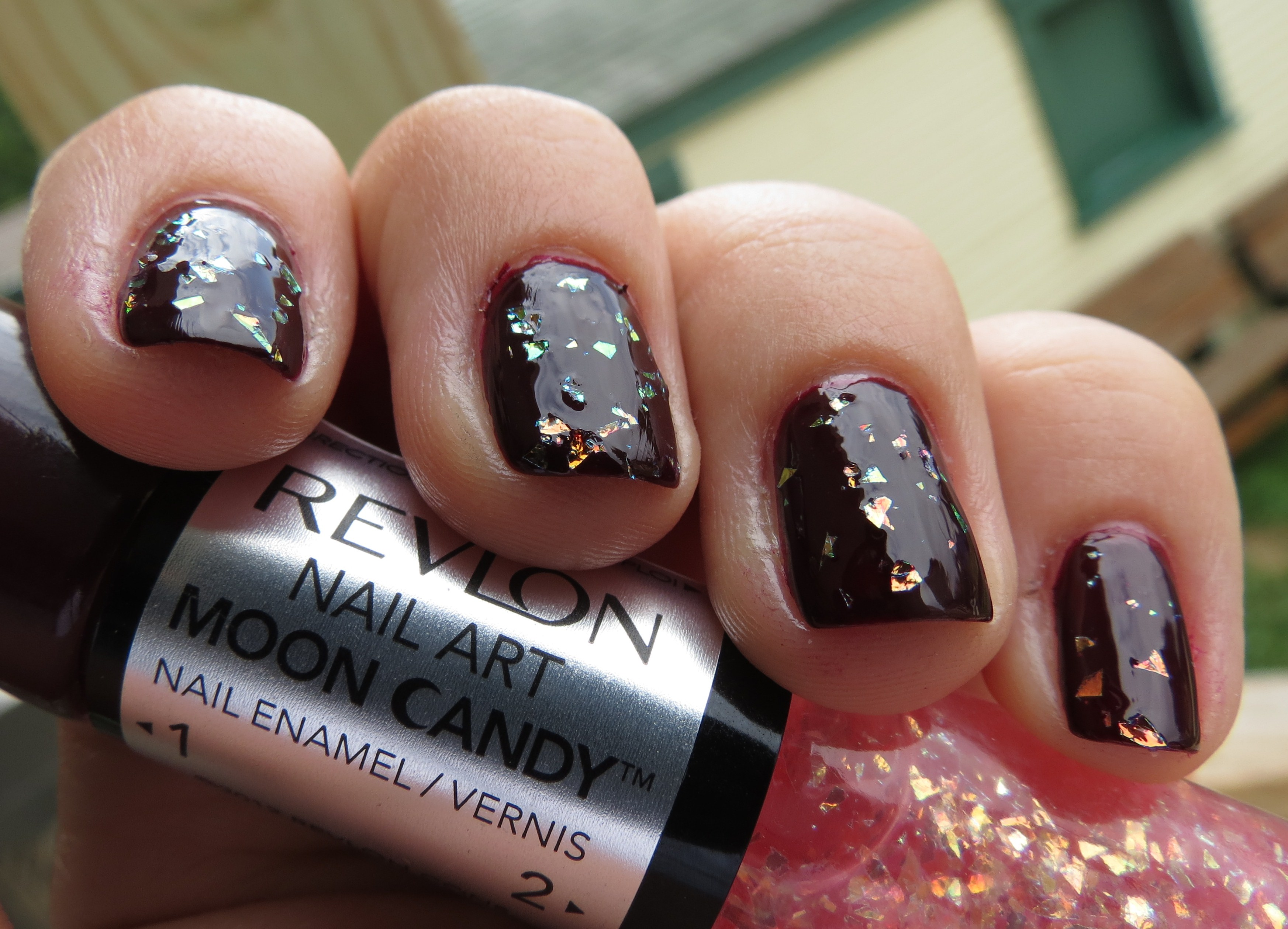 Revlon satellite nail art moon candy nail enamel swatches review cons prinsesfo Images